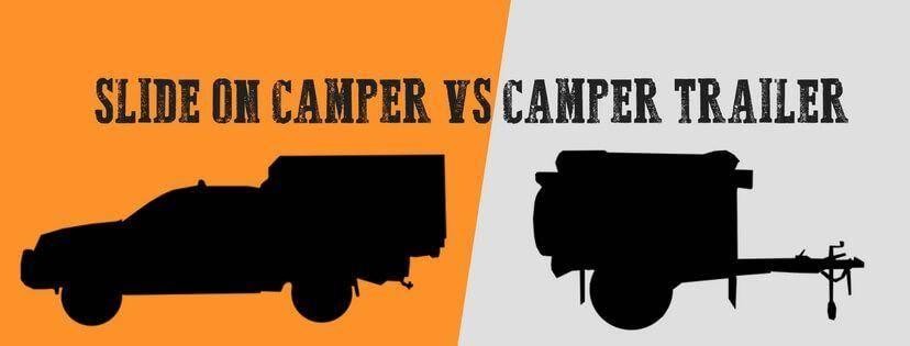 Image of SLIDE-ON VS Off Road CAMPER TRAILER