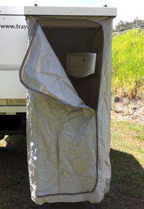 Trayon Camping Outhouse Single Set Up