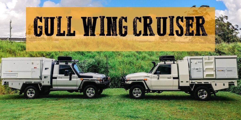 4x4 Expedition Vehicles - Australian Made Trayon Camper - Gullwing Land Cruiser