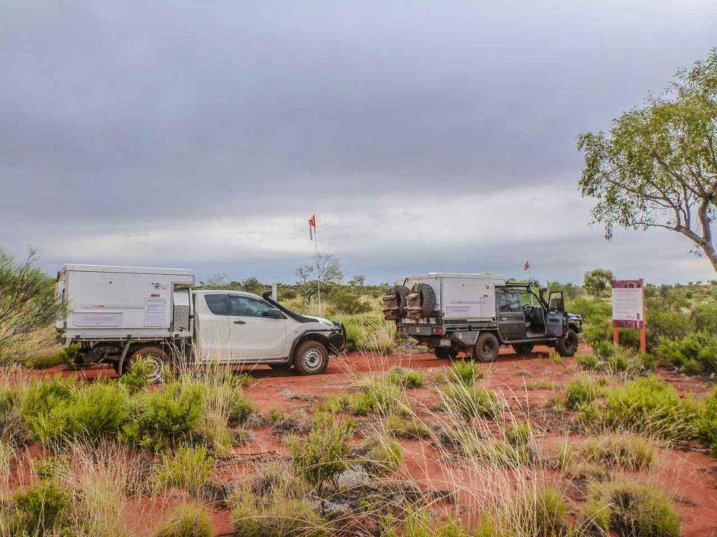 Mazda BT-50 and Landcruiser LC-79 with Trayon camper